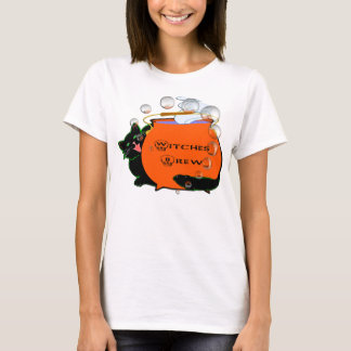 Black Cat Witches Brew T-Shirt