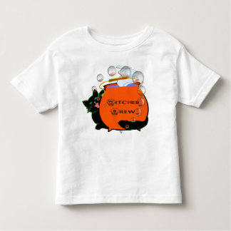 Black Cat Witches Brew Toddler T-shirt