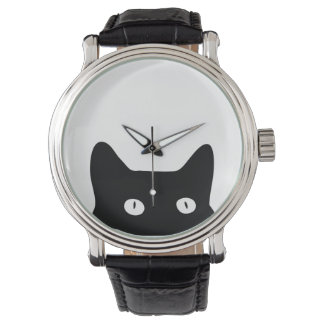Black Cat Wrist Watches