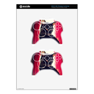 Black cat xbox 360 controller decal