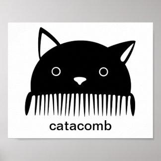Black Catacomb Poster