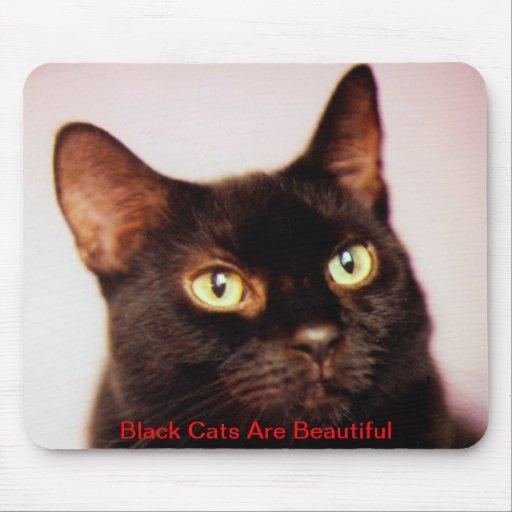 Black Cats Are Beautiful Mousepad