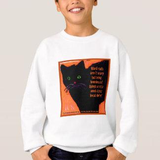 Black Cats Aren't Scary Sweatshirt