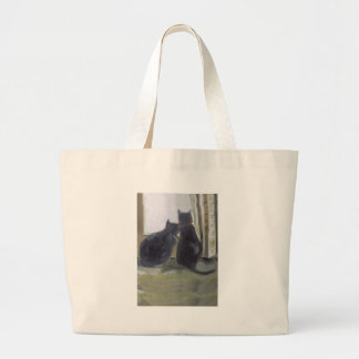 Black Cats Tote Bags