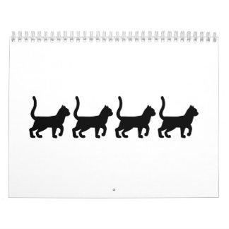 Black cats calendar