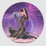 """""""Black Cats Divination"""" Stickers"""