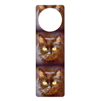 black cats door hanger