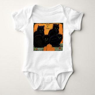 Black Cats Halloween infantwear Baby Bodysuit