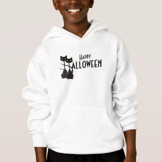 Black Cats Happy Halloween Hoodie