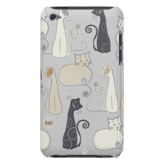 Black Cats iPod Case Barely There iPod Case
