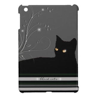 black cats kitty case for the iPad mini