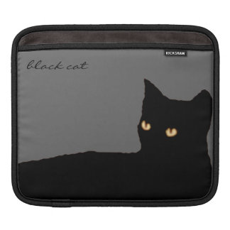black cats, meow sleeve for iPads