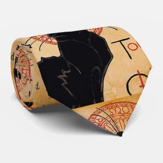 Black Cats Neck Tie