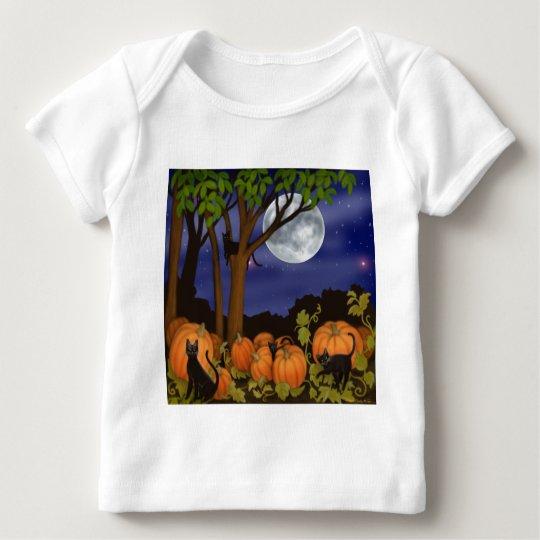 Black Cats & Pumpkins Infant Long Sleeve Baby T-Shirt