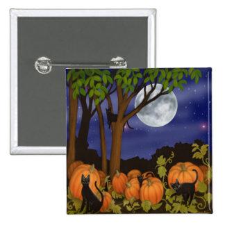 Black Cats & Pumpkins Pin