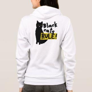 Black Cats rule Hoodie