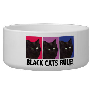 Black Cats RULE! Pet Bowl