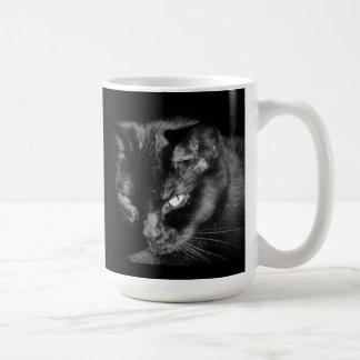 Black Cats Rule Wanna Fight? Coffee Mug