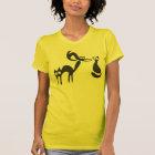 Black Cats Silhouette T-Shirt