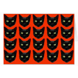 Black Cats Stationery Note Card