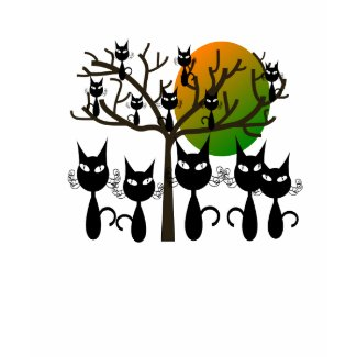 Black Cats Taking Over shirt