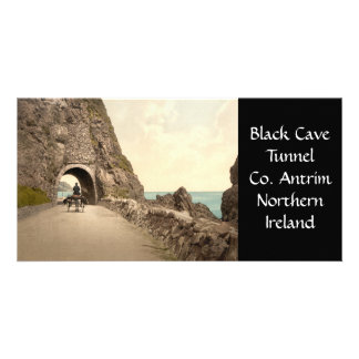 Black Cave Tunnel, County Antrim, Northern Ireland Card