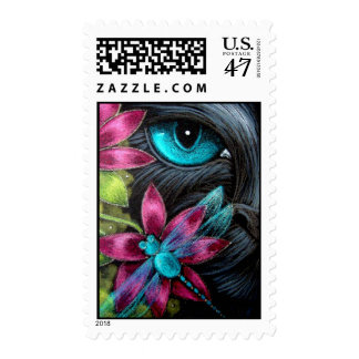 BLACK CAY & DRAGONFLY Postage