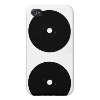 black cd iPhone 4 cases