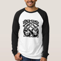 Black Celtic Dogs T-Shirt