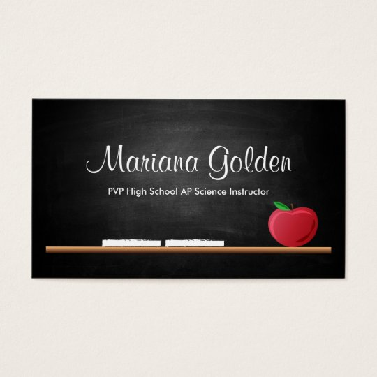 Teacher Business Cards Teacher Business Card Templates - Teacher business card template