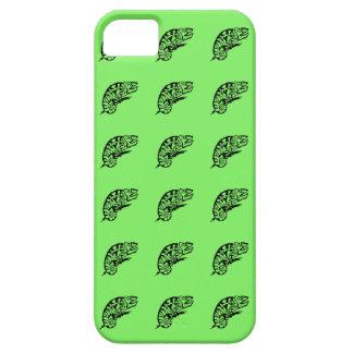 Black Chameleon Pastel Green iPhone SE/5/5s Case