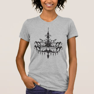 Black Chandelier T Shirts