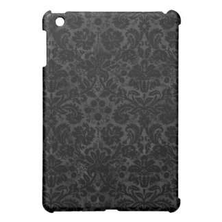 Black Charcoal Damask Cover For The iPad Mini