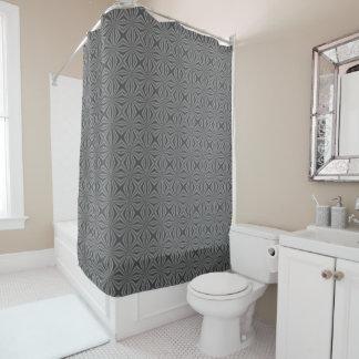 Black Charcoal Shower Curtains | Zazzle