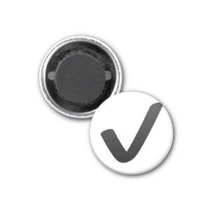 check mark refrigerator magnets zazzle
