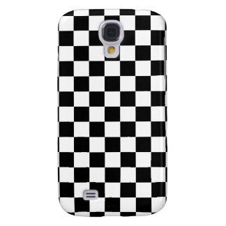 Black Checkered Samsung Galaxy S4 Covers