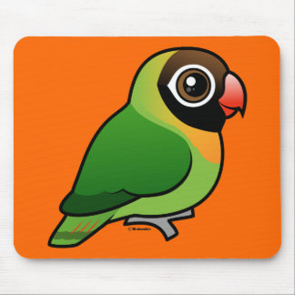 Black-cheeked Lovebird Mouse Pad