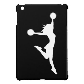 Black Cheer Silhouette iPad Mini Case