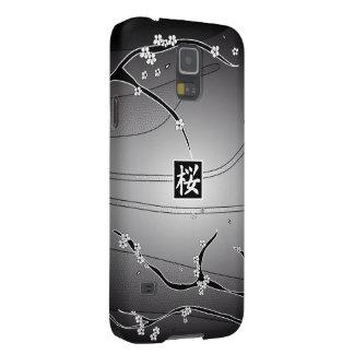 Black Cherry Blossom Tree Galaxy S5 Cover