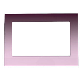 Black Cherry Ombre Magnetic Photo Frame