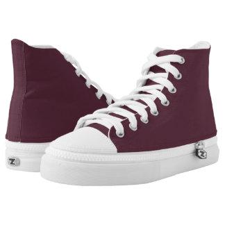 Black Cherry Soda Hi-Top Printed Shoes