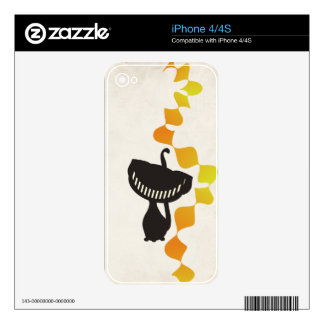 black cheshire cat skins for the iPhone 4