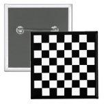 Black Chess Board Button
