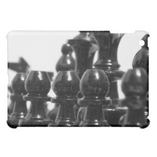 Black Chess Pieces iPad Case