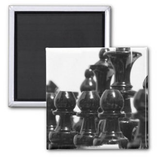 Black Chess Pieces Magnet Magnet