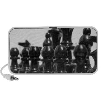 Black Chess Pieces Speakers