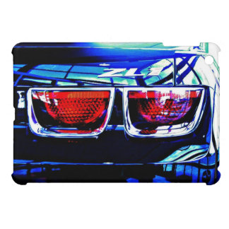 Black Chevrolet Camaro ZL1 Tail Lights and Decal iPad Mini Case
