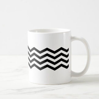 black chevron mug