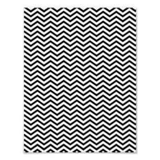 Black Chevron Pattern Photo
