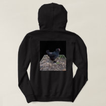 Black Chicken Pop Out_Mens_Black_Hoodie Hoodie